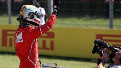 Ferrari copa la primera línea