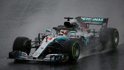 GP de Hungría: Hamilton heroico bajo la lluvia