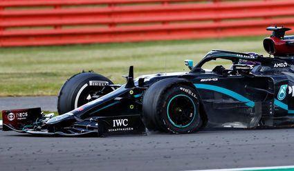 GP de Gran Bretaña F1 2020: Hamilton gana con una rueda pinchada