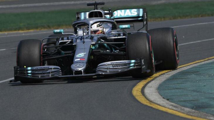 GP de Australia F1: Hamilton se exhibe en Albert Park