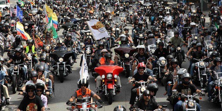Más de 1.500 Harley-Davidson recorrerán las calles de Madrid