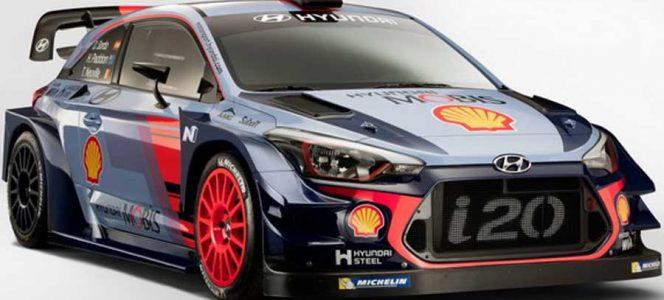 Hyundai presenta su coche y sus pilotos para la próxima temporada
