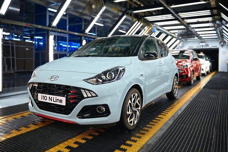 Hyundai i10 N Line comienza su producción