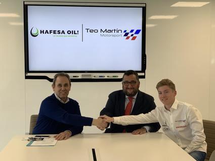 Teo Martin Motorsport Hafesa con Antonio Albacete jr. y Honda