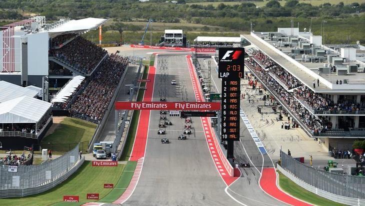 GP de EE UU F1 2019: Horarios y Neumáticos