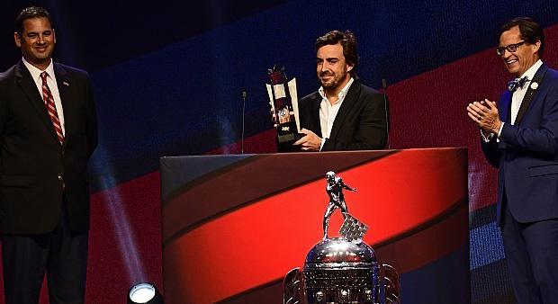 Fernando Alonso elegido Mejor Novato de Indianápolis