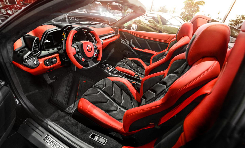 Carlex Design Personaliza El Interior De Un 458 Spider