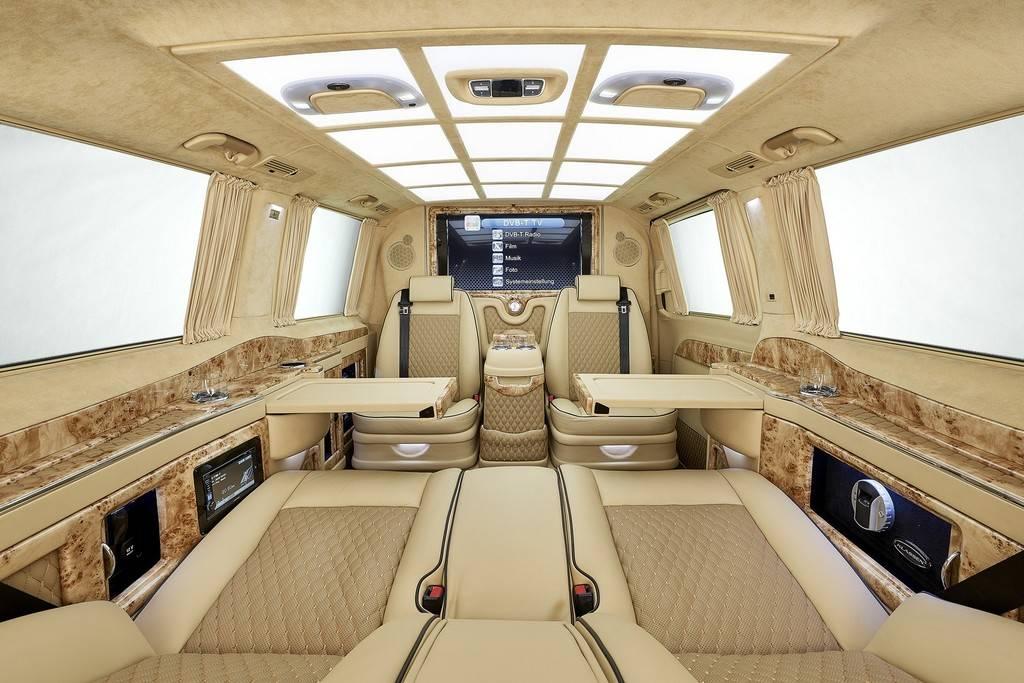 Impresionante interior del mercedes clase v revista de for Interior mercedes clase a