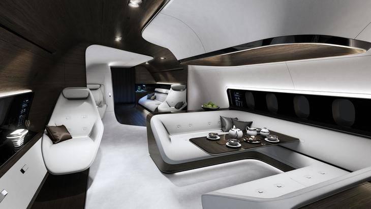 Mercedes y Lufthansa crean su interior de lujo