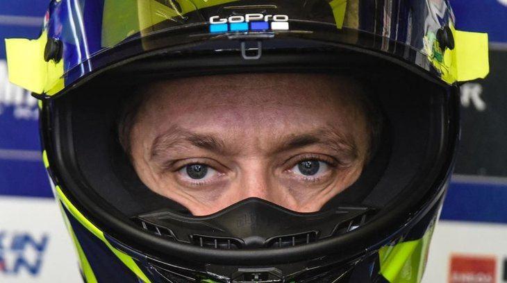Valentino Rossi positivo en Covid-19, se perderá de momento la primera carrera de Aragón
