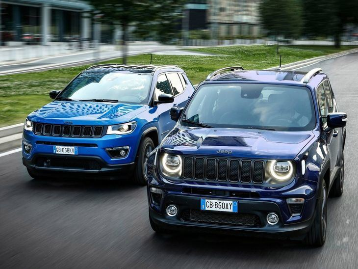 Jeep Renegade 4xe y Compass 4xe, la apuesta por los híbridos enchufables