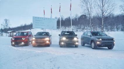 Jeep Renegade y Compass 4xe en un video evocador