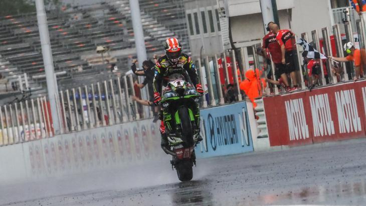 Bautista, tercero en la primera carrera italiana