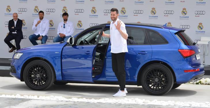 Los jugadores reciben sus vehículos