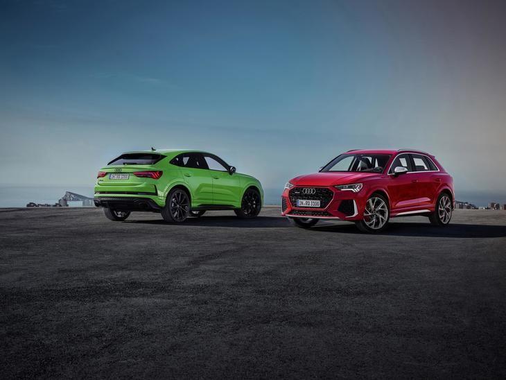 Audi RS Q3 y Audi RS Q3 Sportback, dos SUV compactos deportivos a partir de 73.050 euros