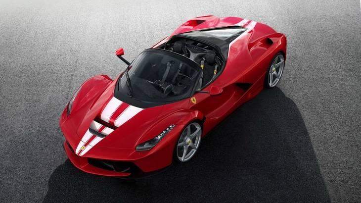 Ferrari La Ferrari Aperta vendido por 10 millones de dólares