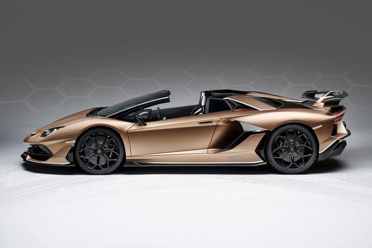 Lamborghini Aventador SVJ Roadster con aerodinámica activa