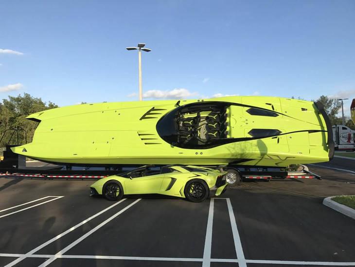 Esta lancha de Lamborghini es lo más alucinante que vas a ver hoy