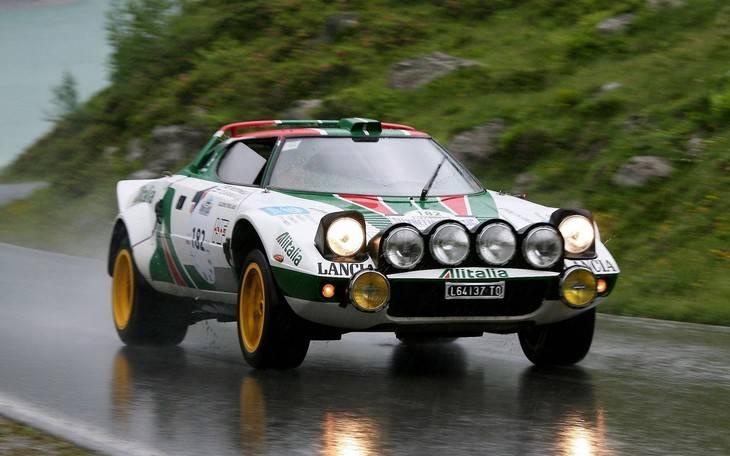 Lancia Stratos HF uno de los grandes de los rallyes