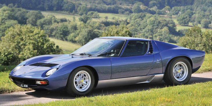 El Lamborghini Miura de Rod Stewart por un millón de euros