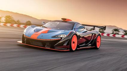 Lanzante nos presenta el Wild McLaren P1 GTR-18