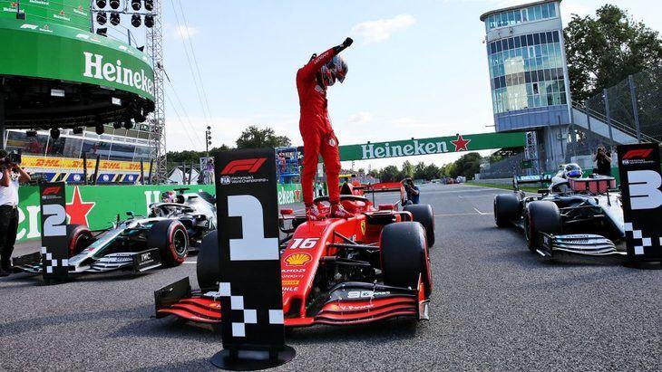 GP de Italia F1 2019: Leclerc domina en una Q3 caótica
