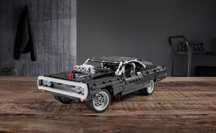 LEGO va a todo gas con el Dodge Charger de Fast&Furious