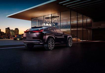 El nuevo Lexus UX Concept, una experiencia de conducci�n tridimensional