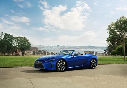Lexus LC Cabrio, la belleza