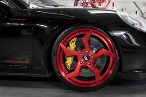 El Porsche 911 'vestido de Ninja'