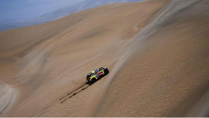 Loeb repite y ya es segundo. Quintanilla gana en motos y lídera la general
