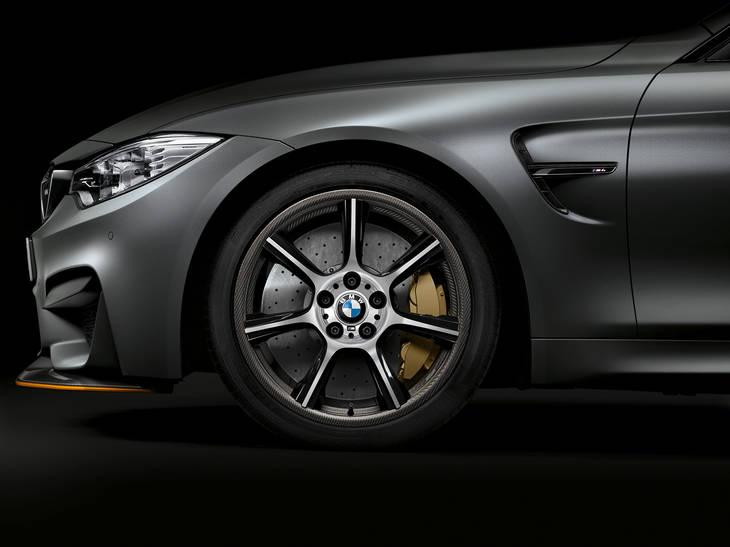 BMW M4 GTS carbono hasta en las llantas