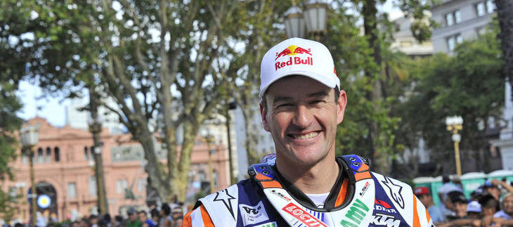 Marc Coma, logra su quinta victoria en el Dakar