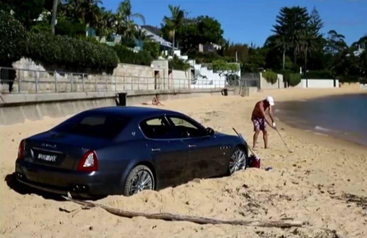 Rico, desempleado, aburrido y con un Maserati