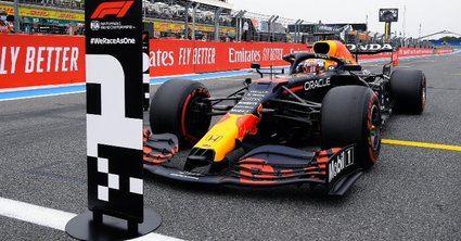 Verstappen se hace con la Pole del GP de Francia