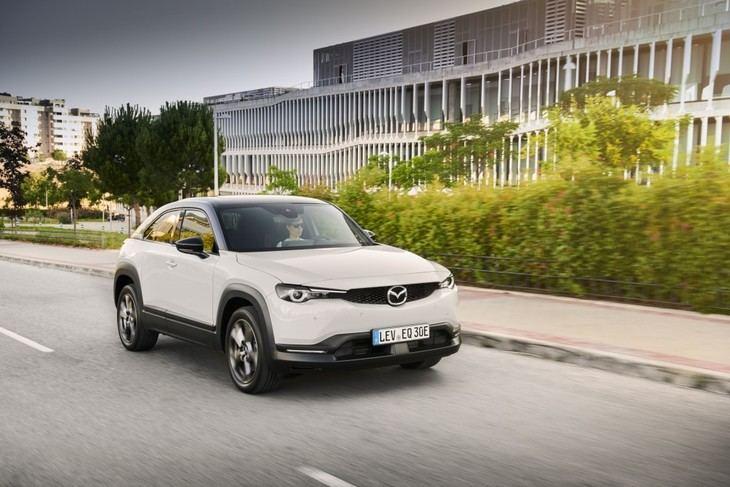 Mazda MX 30 un SUV 100% eléctrico