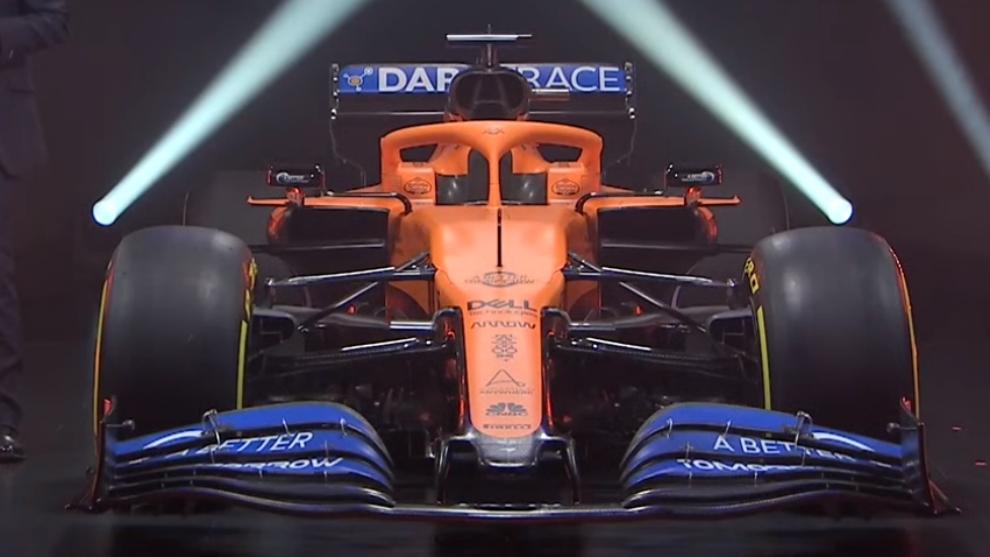 McLaren y el impresionante MCL35