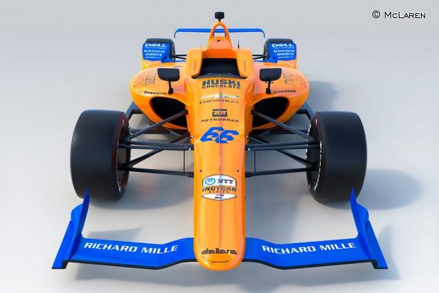 El McLaren que pilotará Fernando Alonso