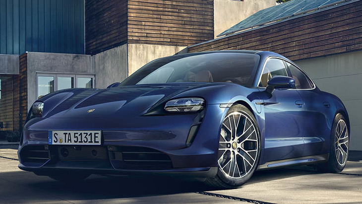 Porsche Taycan 100% eléctrico
