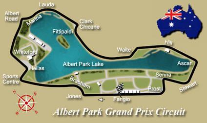Circuito, horarios, coches y pilotos en Adelaida