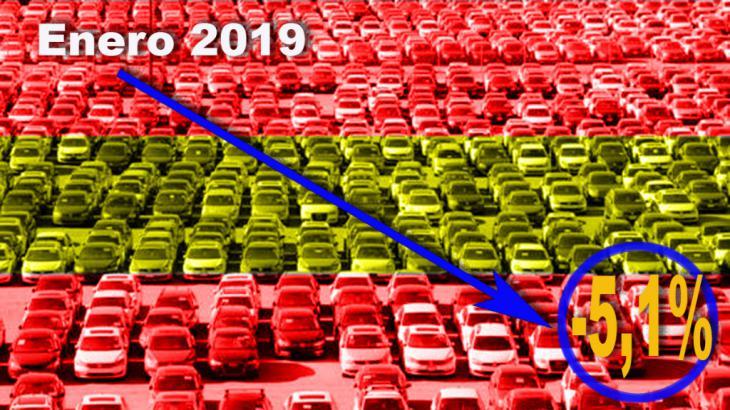 Las ventas de coches caen un 8 por ciento