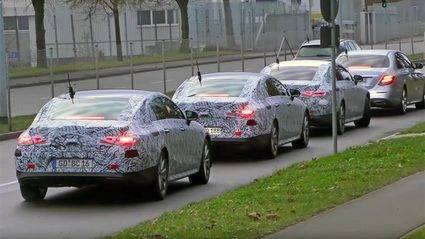 Mercedes CLE 2018 ¡cazado!
