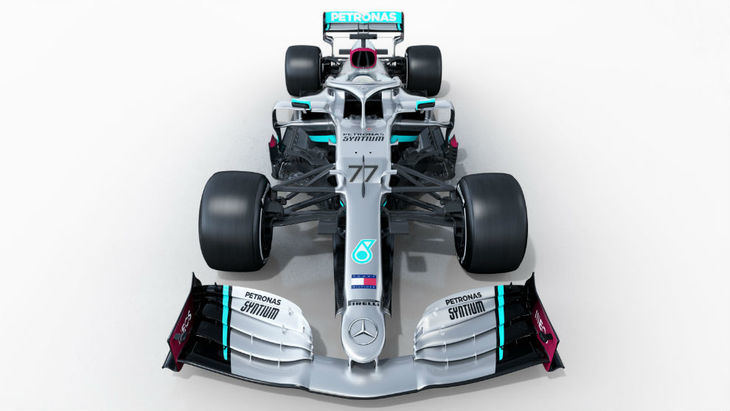 El Mercedes W11 dispuesto a repetir victorias