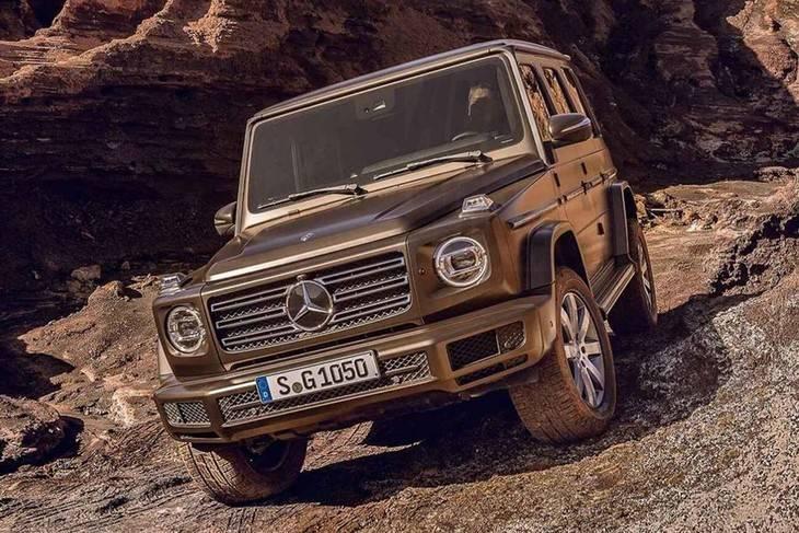 Desveladas las primeras imágenes del nuevo Mercedes Clase G