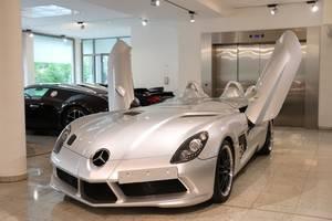 Un rarísimo Mercedes SLR Stirling Moss a la venta