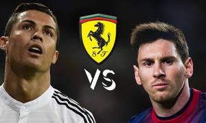 Messi y Cristiano, �enfrentados por un coche?