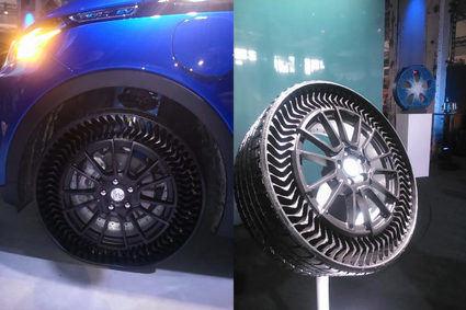 Michelin Uptis, el neumático que no necesita aire