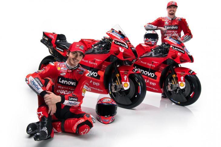 Presentación del equipo oficial Ducati