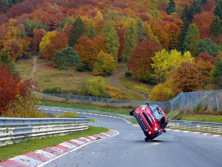 Récord a dos ruedas en Nuburgring
