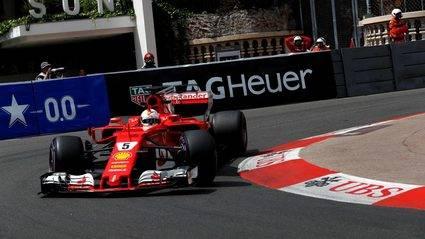 GP de Mónaco: Vettel, muy superior